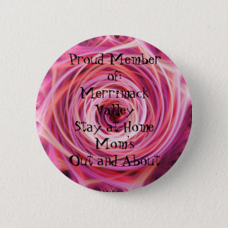 Proud Member of:Merrimack Valley Sta... 2 Inch Round Button