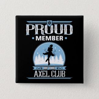 Proud Member of the Axel Club Figure Skater Pin