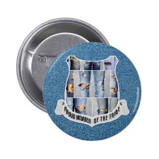 Proud Member Of The Tribe Fully Customizable 2 Inch Round Button
