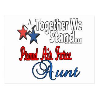 Proud Military Aunt Postcard