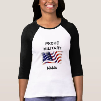 Proud Military Mom Shirt (customizeable)