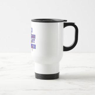 Proud Military Supporter 15oz Travel Mug - White
