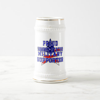 Proud Military Supporter 22oz Stein