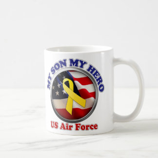 Proud Mom - Air Force Classic White Coffee Mug