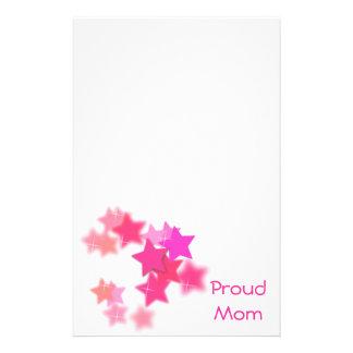 Proud Mom Custom Stationery