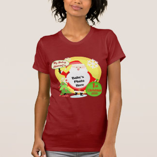 Proud Mom / Grandma Christmas Photo T-Shirt