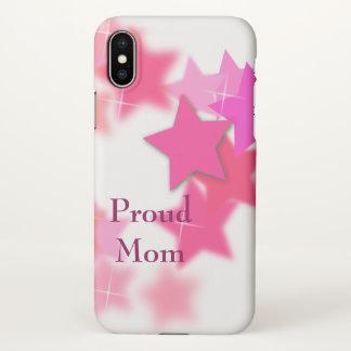Proud Mom iPhone X Case