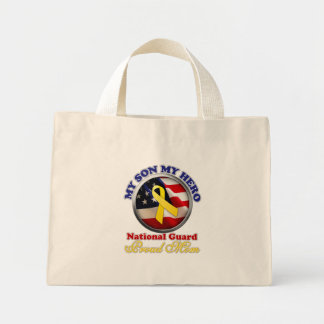 Proud Mom - National Guard Canvas Bags