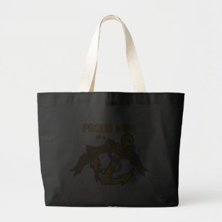 Proud Mom of a Chief Petty Officer Jumbo Tote Bag
