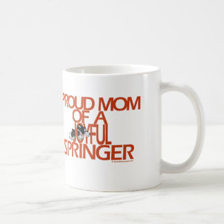 Proud Mom Of A Joyful Springer Coffee Mug