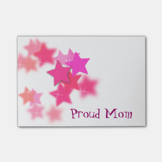 Proud Mom Post It Notes