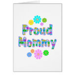 Proud Mommy Greeting Card