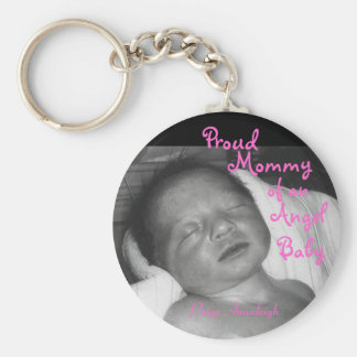 Proud Mommy of an Angel Baby Keychain