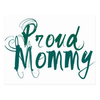 Proud Mommy Postcard