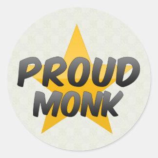 Proud Monk Stickers
