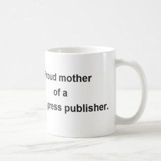 Proud mother coffee mug
