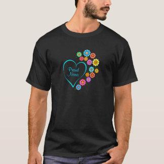 Proud Nana Heart T-Shirt