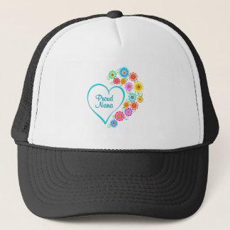 Proud Nana Heart Trucker Hat