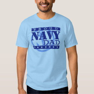 Proud Navy Dad T-shirts