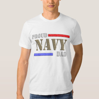 Proud Navy Dad T Shirts