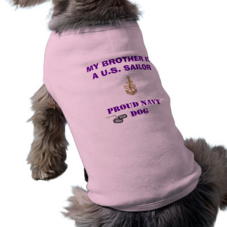 PROUD NAVY DOG SHIRT