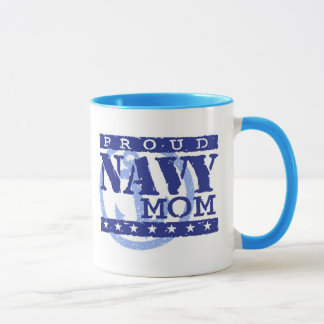 Proud Navy Mom Mug