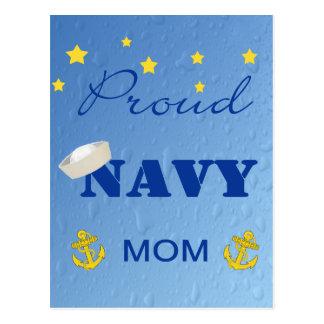 Proud Navy Mom Postcard