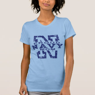 Proud Navy Mom Tshirts