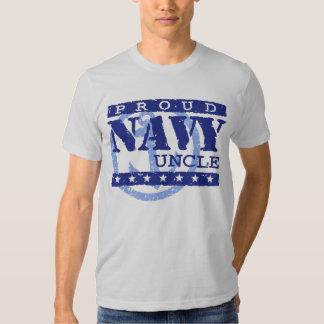 Proud Navy Uncle T Shirt