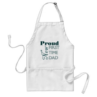 Proud New First Time Dad Apron