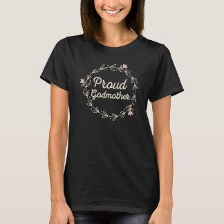 Proud New Godmother Ladies T-shirt