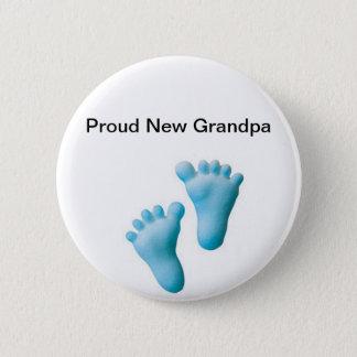 Proud New Grandpa 2 Inch Round Button