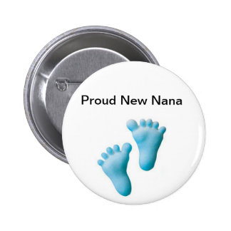Proud New Nana 2 Inch Round Button