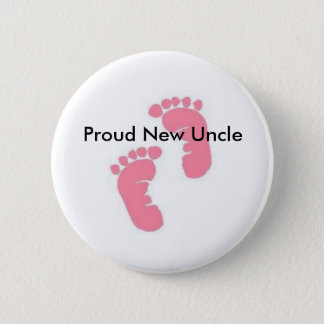 Proud New Uncle 2 Inch Round Button