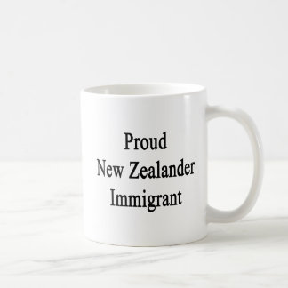Proud New Zealander Immigrant Coffee Mug