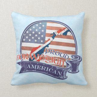 Proud Norwegian American Cushion