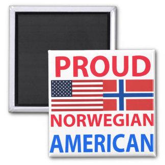 Proud Norwegian American Magnet