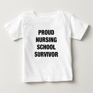 proud nursing school survivor shirt