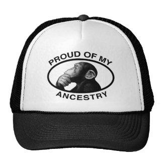 Proud Of My Ancestry Chimp Trucker Hat