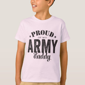 Proud of my ARMY Daddy T-Shirt