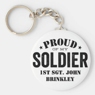Proud of my Army SOLDIER Keychain