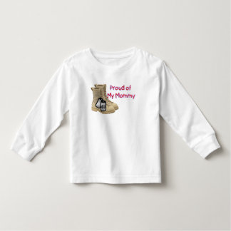 Proud of My Mommy (Army) Toddler T-shirt