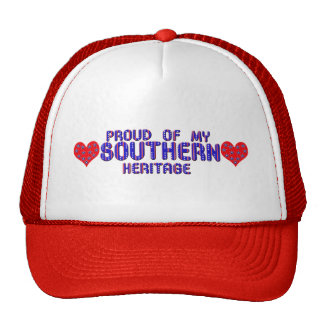 Proud Of My Southern Heritage Caps n Hats