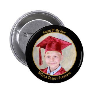 Proud Of Your Graduate Photo Button
