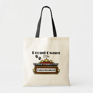 Proud Owner World's Greatest Dutch Shepherd Tote Bag