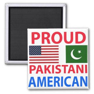 Proud Pakistani American Square Magnet