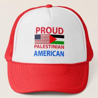 Proud Palestinian American Trucker Hat