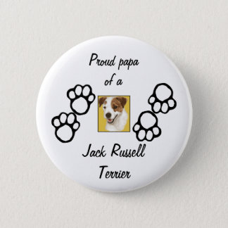 Proud Papa  (+) 2 Inch Round Button
