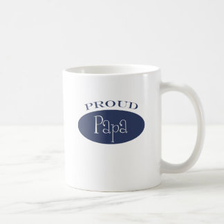 proud papa coffee mug