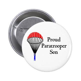 Proud Paratrooper Son Pinback Button